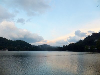 Sunset at Kandy