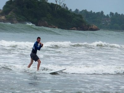 Liam surf lesson mirissa