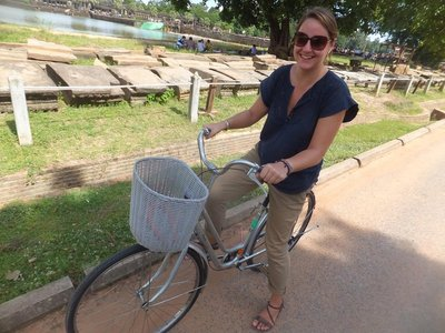 Angkor Wat by bike