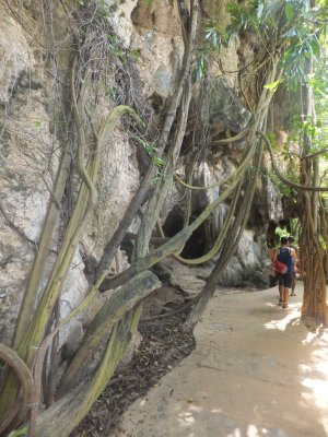 Path from Railay East to West