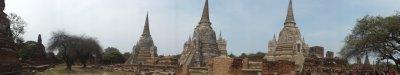 Wat phra Si Samphet Ayutthaya