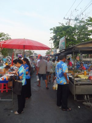 Night market in Ayutthaya