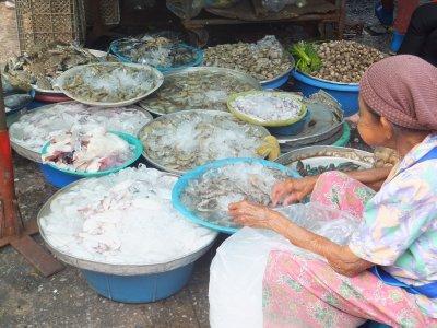 Chow Prom Market, Ayutthatya