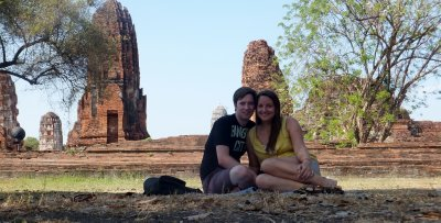 Afternoon in the park, Ayutthaya