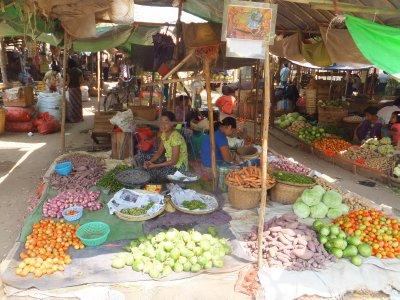 Bagan market - Myanmar