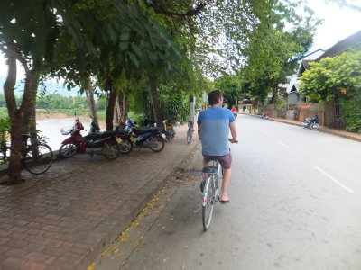 Cycling in Luang Prabang