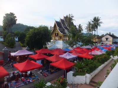 Night Market from Phou Si, Luang Prabang