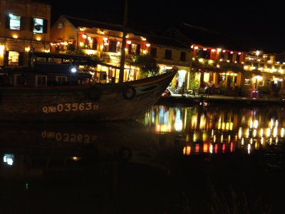 The harbour in Hoi An