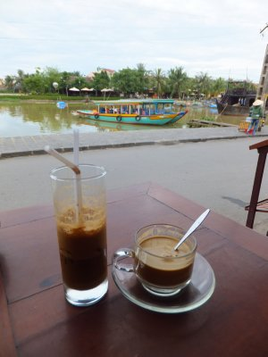 Coffee by the River Hoi An