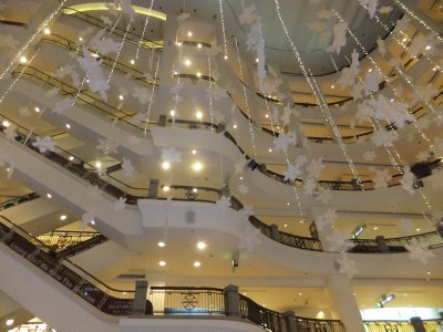 Christmas Inside Times Square Mall, Kuala Lumpur
