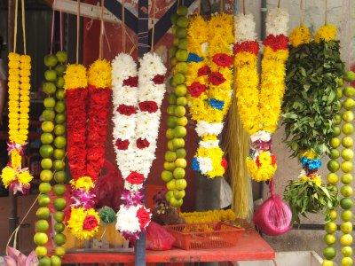 Hindu Flower Stall