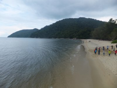 Pantai Keracut beach in Penang national park
