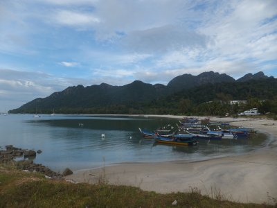 Cove at the Pantai kok area of Langkawi