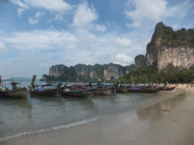railay West beach Krabi Thailand