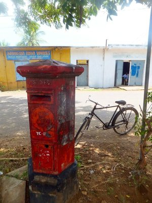 Trincomalee postbox
