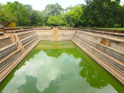 Twin ponds Anuradhapura