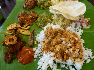 Banana Leaf Curry