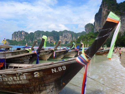 Longboat on Railay Thailand