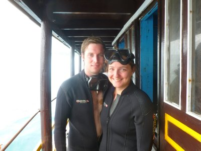 Diving on Cham Island in Hoi An