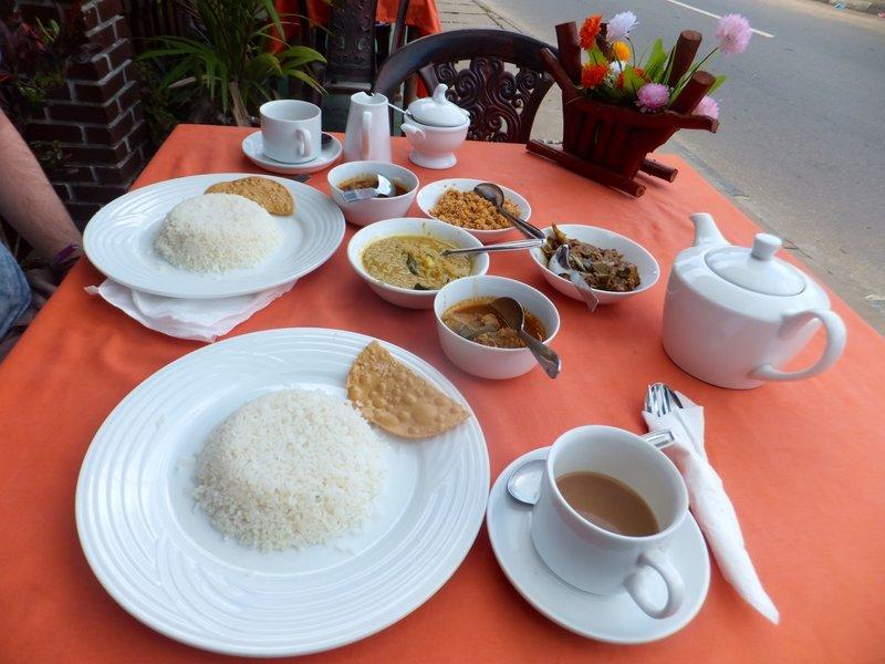 Breakfast in Negombo