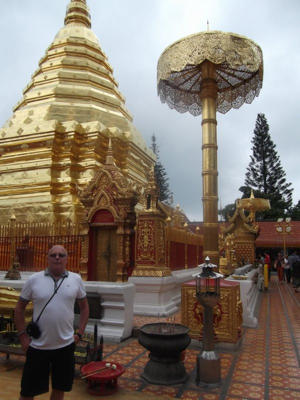 Graham at Doi Sutep