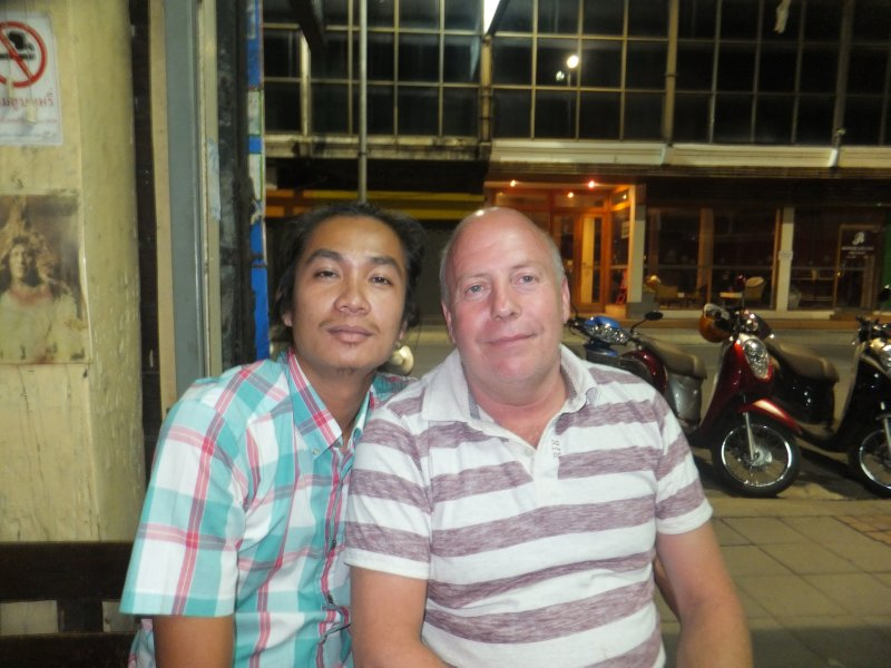 Graham and Odd the Tuk Tuk Driver