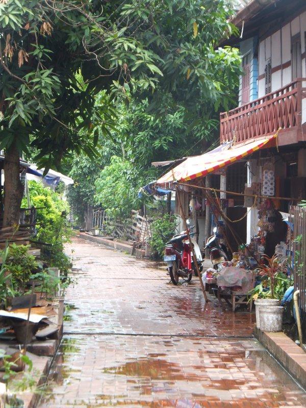 Luang Prabang streets