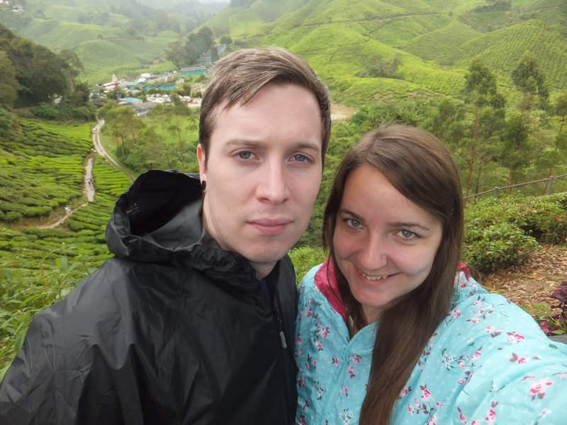 Getting Soaked in the Cameron Highlands