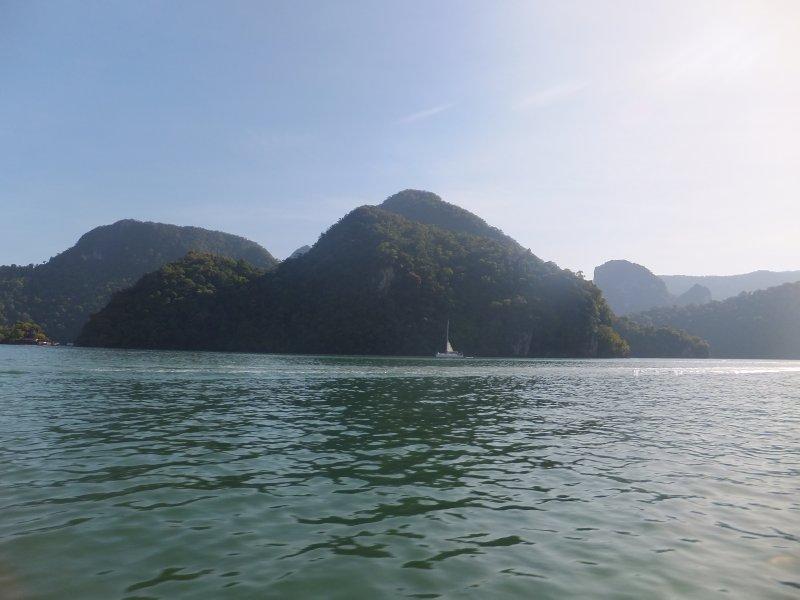 Islands around Langkawi Malaysia