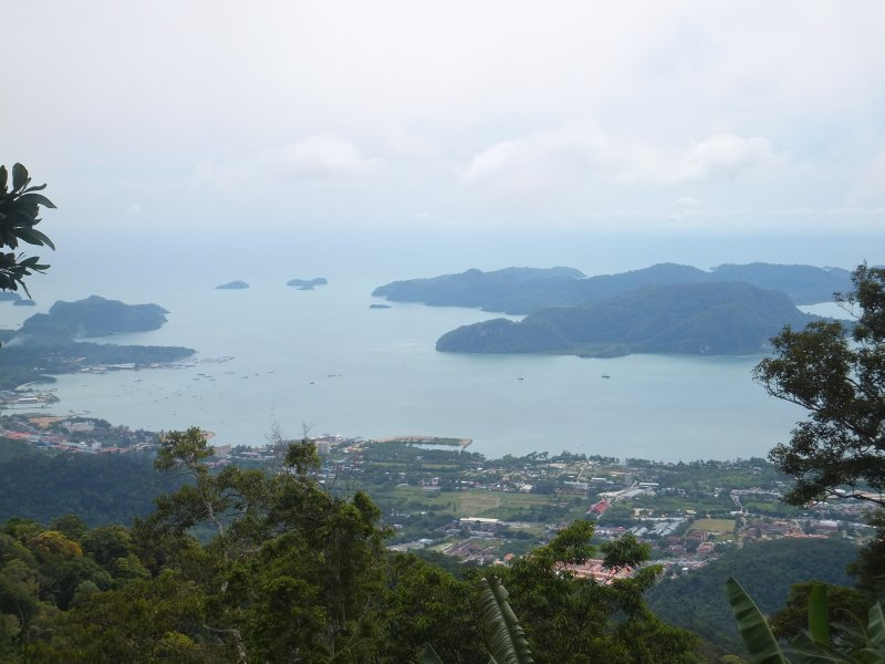 View from Gunung Raya Langkawi