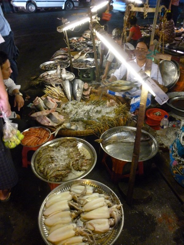 Night Market Yangon