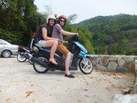 Our Motorbike in Penang