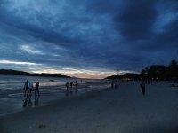 Sunset on Pantai Cenang Langkawi