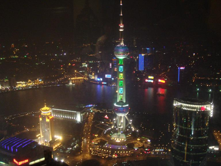 view from jingmao tower