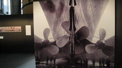 Titanic's propels