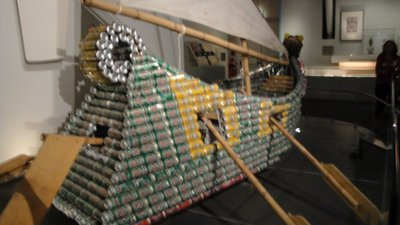 Beer can boat 1