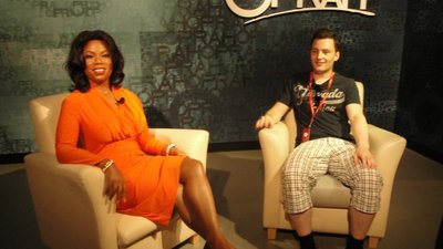 Oprah and guest