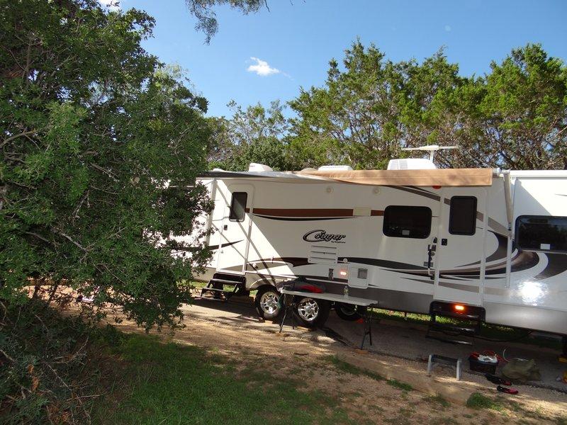 Campsite 61 at Pedernales Falls State Park