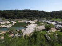 Pedernales Falls view from the scenic overlook