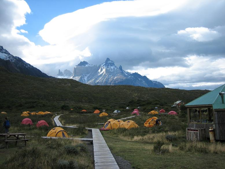 Paine Grande campsite - Torres del Paine