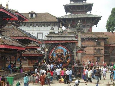 Kal Bhairava Pilgrims Tour at Kathmandu