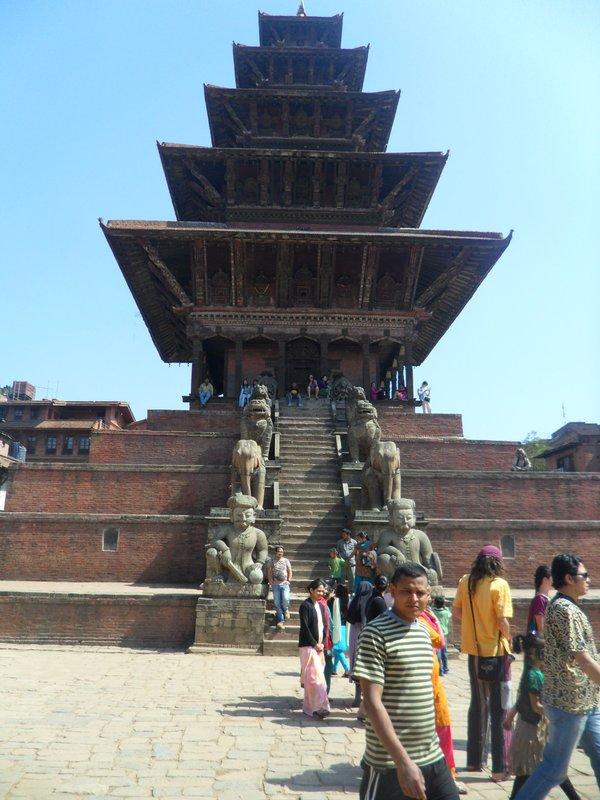 Nayatapol Temple At Bhaktapur Darbar Square