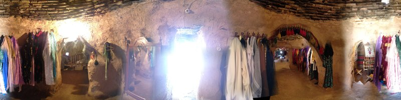 Inside a Beehive House