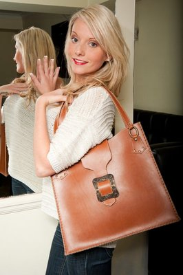 Tan Leather Handbag