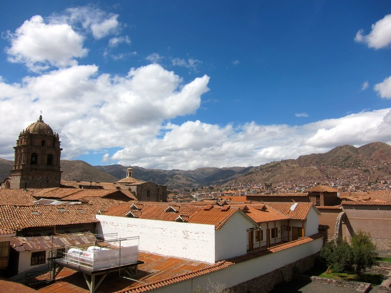 view in Cusco