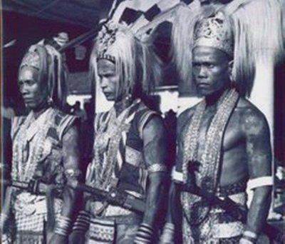 headhunters of Borneo