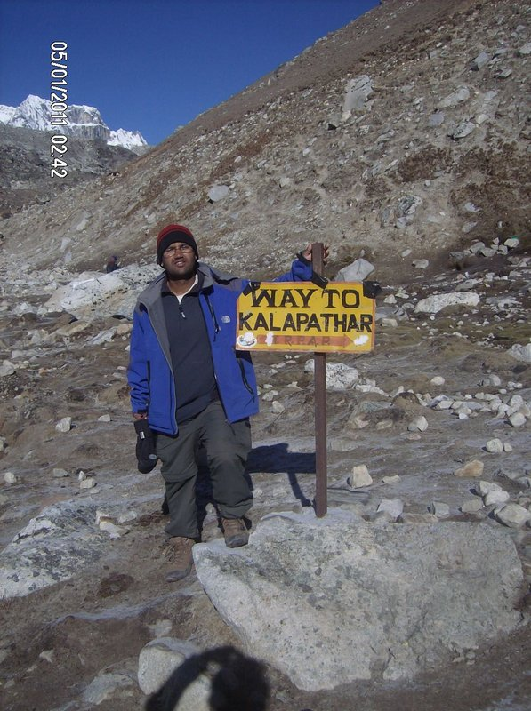 Way to Kalapather (Best view point of Mt. Everest)