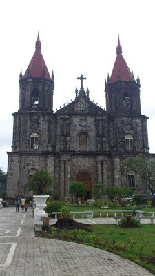 The Gothic-Inspired chuch of St. Anne in Molo, Iloilo City.