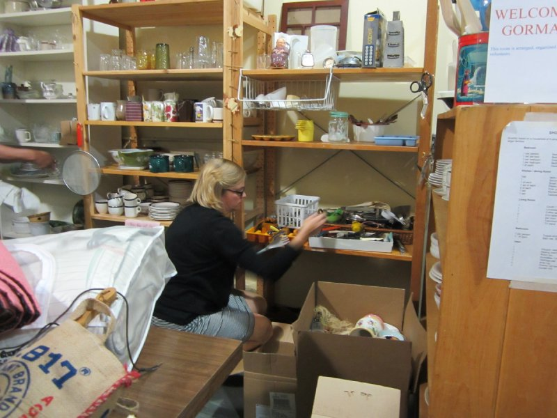 Working in the Furniture Bank in Ottawa