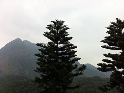 View from Big Buddah at Lantau Island, Hong Kong